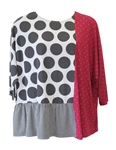 Alembika Grey Mix Top