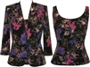 Alex Evenings  Purple Floral  Twin Set
