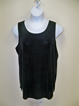 APT Black Sleeveless Shell