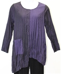 Chalet Iridescent Woven Pocket Tunic
