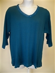 Copper Canyon Blue Rib Top