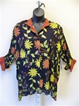 Carole Tomkins Sunflowers Big Shirt