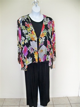 Dinah Lee Floral Whisper jacket