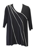 Ela USA Black and White Tunic