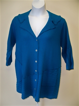 Fenini T Blue Patch Shirt