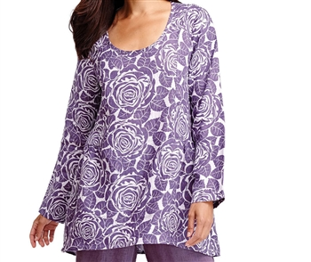 Flax Designs Play In It Linen Tunic