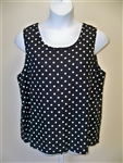 Simple Cami - Black Dot