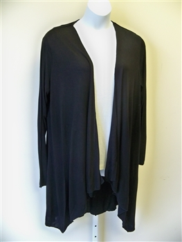 Kaktus Black Long Jacket