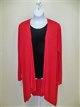 Kaktus Red Long Jacket