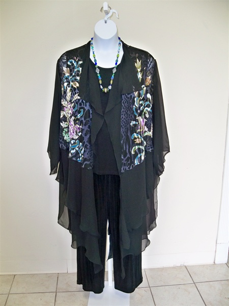 Dressy Black Blouses