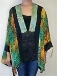 Violet Kay Turquoise Poncho