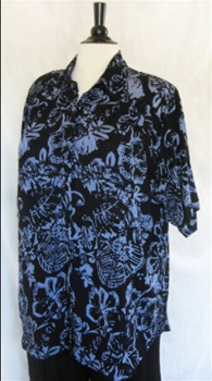 We Be Bop Blue Sumatra Tunic