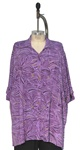 We Be Bop Casanova Purple  Barbara Tunic