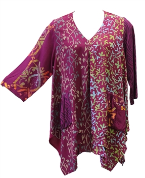 French BatikTunic