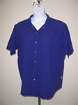Ezze Wear  Mirage Gauze Snap  Shirt   Morado