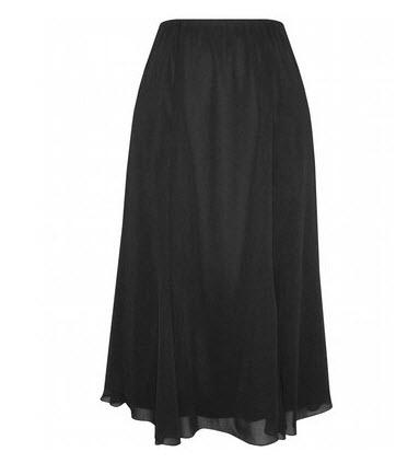 67a8c6103f Alex Evenings Chiffon A-line Skirt
