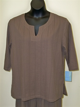 Cotton Connection Chocolate Tunic