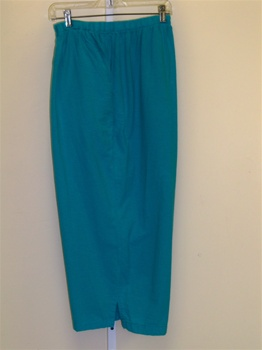 Cotton Connection Aqua Crop Pant