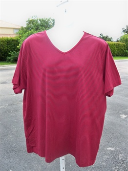 Copper Canyon  V Neck Stripe T-Shirt