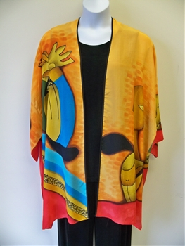 Picasso Inspired Silk Jacket