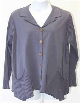 Fenini Shirt Jacket  Coal