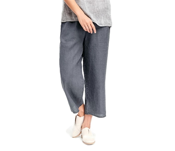 special for shoe top-rated original aliexpress Flax Linen Floods Pant Light Weight Caviar Washed