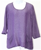 Flax Designs Slouch Grape Tunic