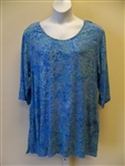 Lost River Blue Lotus Tunic