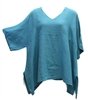 Match Point Teal Kimono Tunic