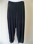 Pegasus Black Rayon Pant  one size Ex-Plus