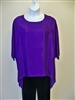 Boski Purple Tunic