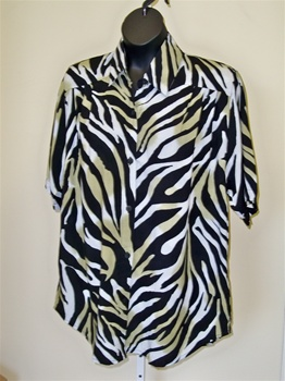 We Be Bop Wild Tiger  Tunic