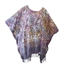 Art to Wear Fringe Caftan Tunic Top