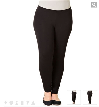 X-two Black Leggings